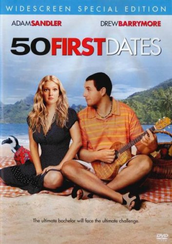 50 First Dates (Blu-ray Disc, 2006) New Free Shipping