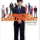 Arrested Development - Season 2 (DVD, 2009, 3-Disc Set) NEW Free Shipping