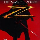The Mask of Zorro (DVD, 1998, Closed Caption) NEW Free Shipping