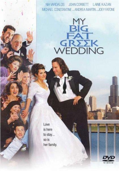 My Big Fat Greek Wedding (DVD, 2003, Widescreen Full Frame) NEW Free Shipping