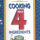 The New Cooking with 4 Ingredients by Jean Coates (2001, Paperback)
