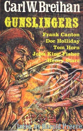 Gunslingers by Carl W. Breihan (1984, Paperback) NEW Free Shipping