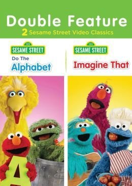 Sesame Street: Do the Alphabet/Imagine That (DVD, 2013) NEW Free Shipping