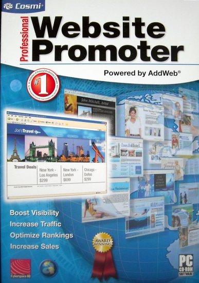 Professional Website Promoter