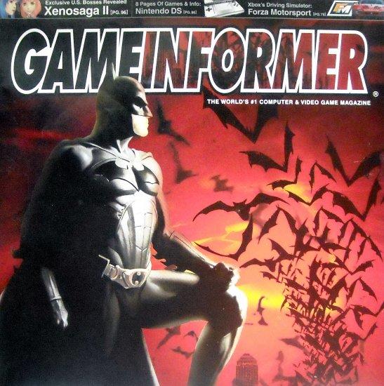 GameInformer Batman Begin Cover
