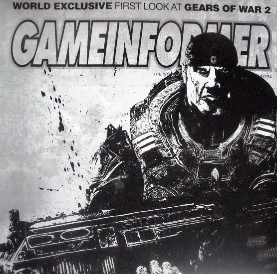 GameInformer Gears Of War 2 Cover
