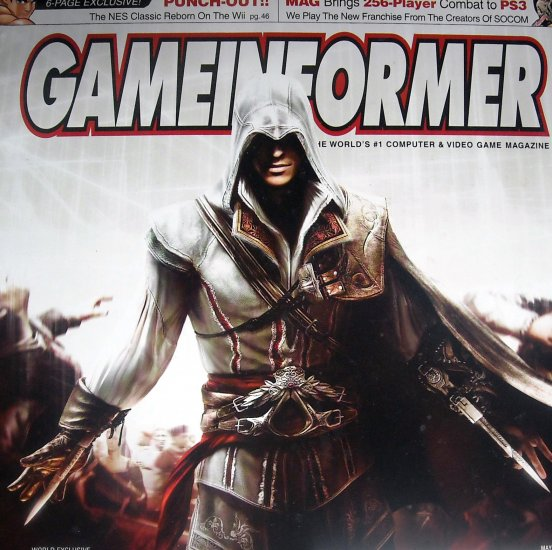 GameInformer Assassin's Creed 2 Cover
