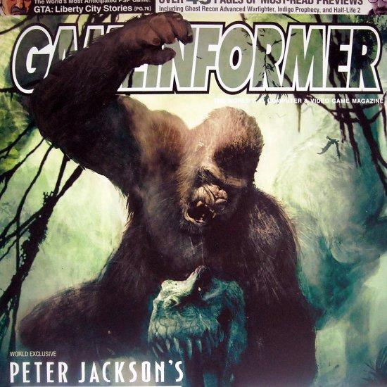 GameInformer Peter Jackson's King Kong Cover