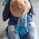"Retired Disney Eeyore X-mas Christmas Holiday 2009 13.5"" Plush Doll Toy NWT from Winnie the Pooh"