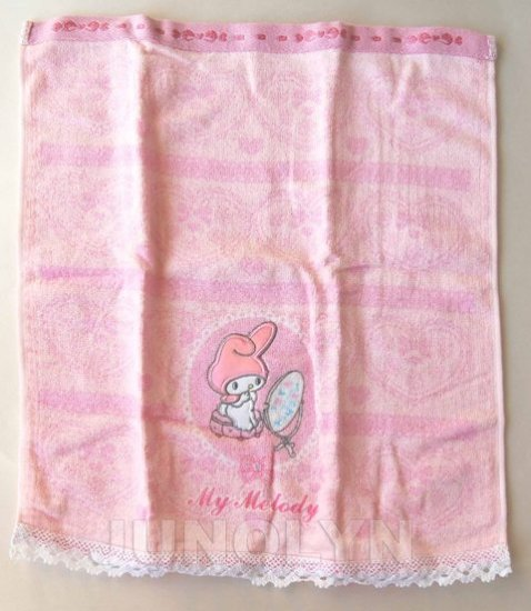 2005 SANRIO Hello Kitty MY MELODY Towel cloth NWT