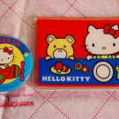 1976 RARE Vintage SANRIO Hello Kitty I.D. Card Case Holder & Button