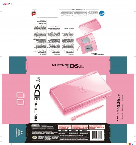 Nintendo Ds Lite Pink(refurbished)
