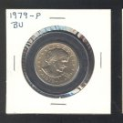 $1.00 SBA  1979-P BU