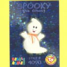 SPOOKY the GHOST = Beanie Babies =