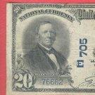 "1902 $20.00 National  "" PITTSBURGH, PA """