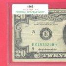 "1969   "" E ""   STAR   $20.00 FRN"