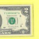 1995 $2.00 FRN ( F ) district