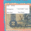 """WWII """" VICTORY """"  TWO Peso"""