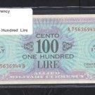 ITALY WWII  AMC  100 LIRE