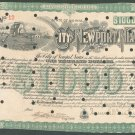 Newport News, VA ==  $1000 BOND certificate