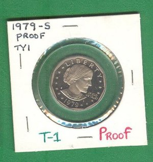 Proof  SBA Dollar 1979-S Type 1