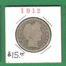 1912  Barber 50 cent