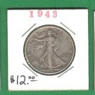 1943  Half dollar