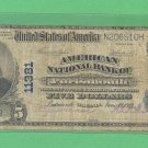 Portsmouth, VA . Series 1902  $5.00 National