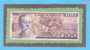 MEXICO  100 Pesos