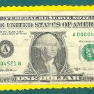 Series 1995, A-N  block $1.00 FRN , LOW #