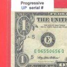 Progressive == UP == 0655 0656 == Serial #