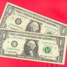 Series 1993 SET ~~ WEB press ~~ $1.00 Experimental notes