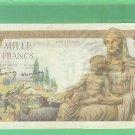 1943 == FRANCE  == 1000 francs
