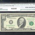~ RADAR ~ $10.00 == GEM 65 == CGA