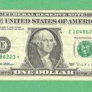 "1995 "" E "" STAR $1.00 FRN"