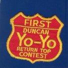 Vintage ~~ Yo - Yo ~~ Patch  DUNCAN
