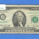 1976 &quot; J &quot; STAR $2.00 FRN