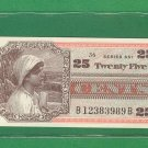 Series 661 ~~ .25 Cents ~~ MPC