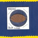 MASON ~~ Rolled penny ~~ BLUE LODGE