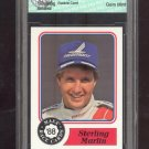 1988 = Sterling Marlin = MAXX RACE CARDS