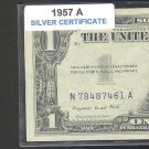 1957a = $1.00 = SILVER certificate