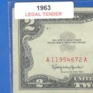 1963 $2.00 Red Seal ........