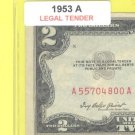 1953a $2.00 Red Seal .... A55704800A