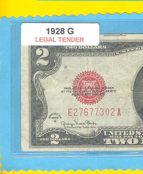 1928g $2.00 Red Seal ....