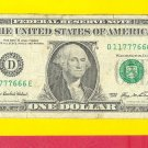 11 777 666 =  FANCY # ~~ 2006 --- $1.00 ~~