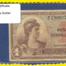 Series 521 ~~ $1.00 ~~~ Military Payment Certificate