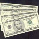 """( 4 )  Series 2003 ~ $5.00 """" STAR """" frn's  """" L """"  district"""