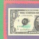 ERROR==solvent / ink smear $1.00 FRN