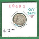 1949-S  10 cent  ~ KEY date ~
