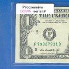 Progressive == DOWN == 7932 7931 ==  Serial  #